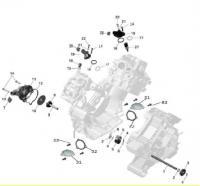 Охлаждение двигателя 140540